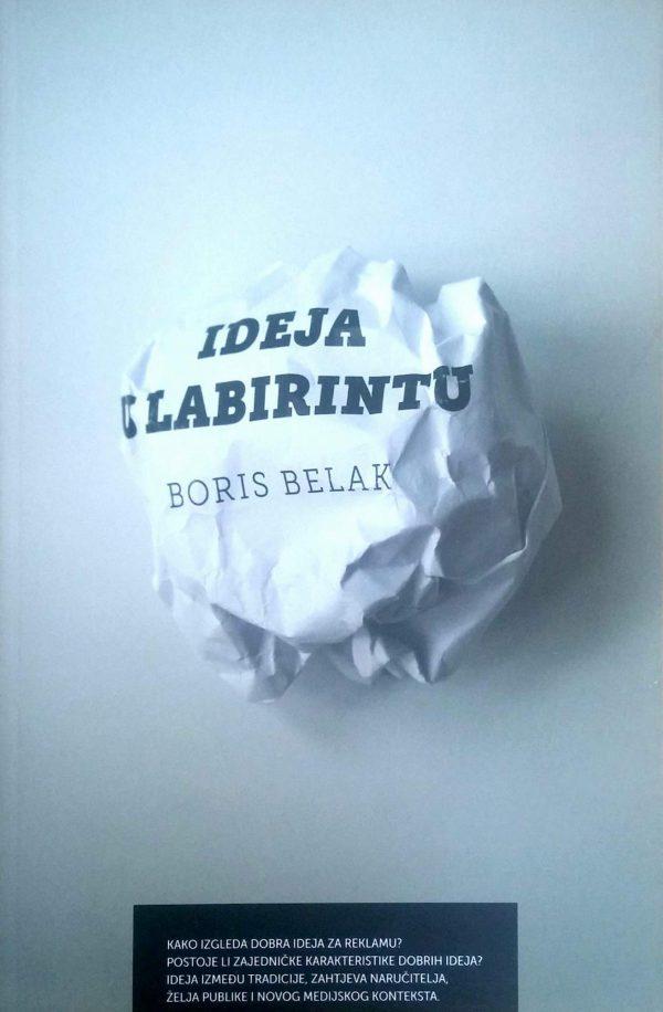 IDEJA U LABIRINTU - Naruči svoju knjigu