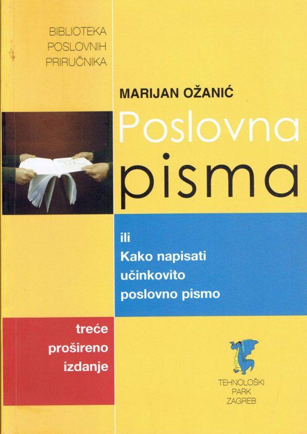POSLOVNA PISMA - Naruči svoju knjigu