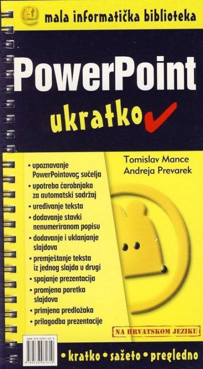 POWER POINT- ukratko - Naruči svoju knjigu