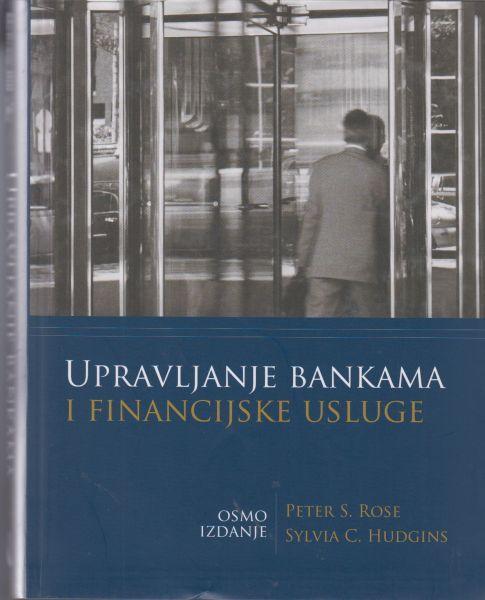 UPRAVLJANJE BANKAMA I FINANCIJSKE USLUGE - Naruči svoju knjigu