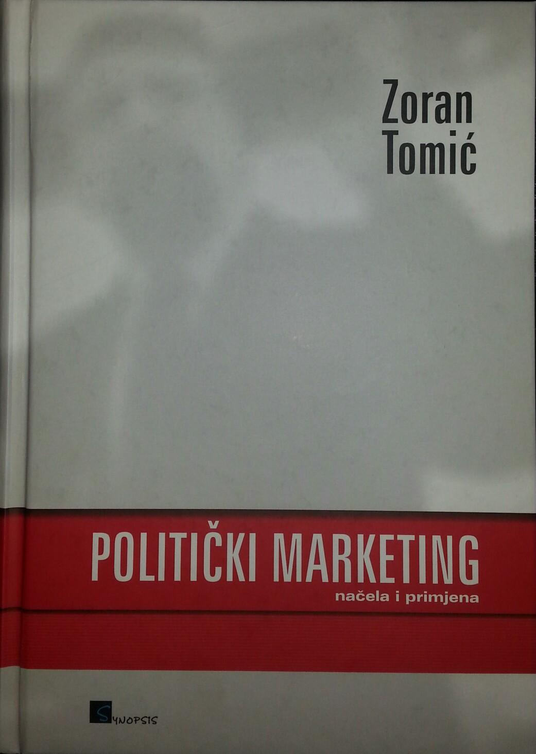 POLITIČKI MARKETING - Naruči svoju knjigu