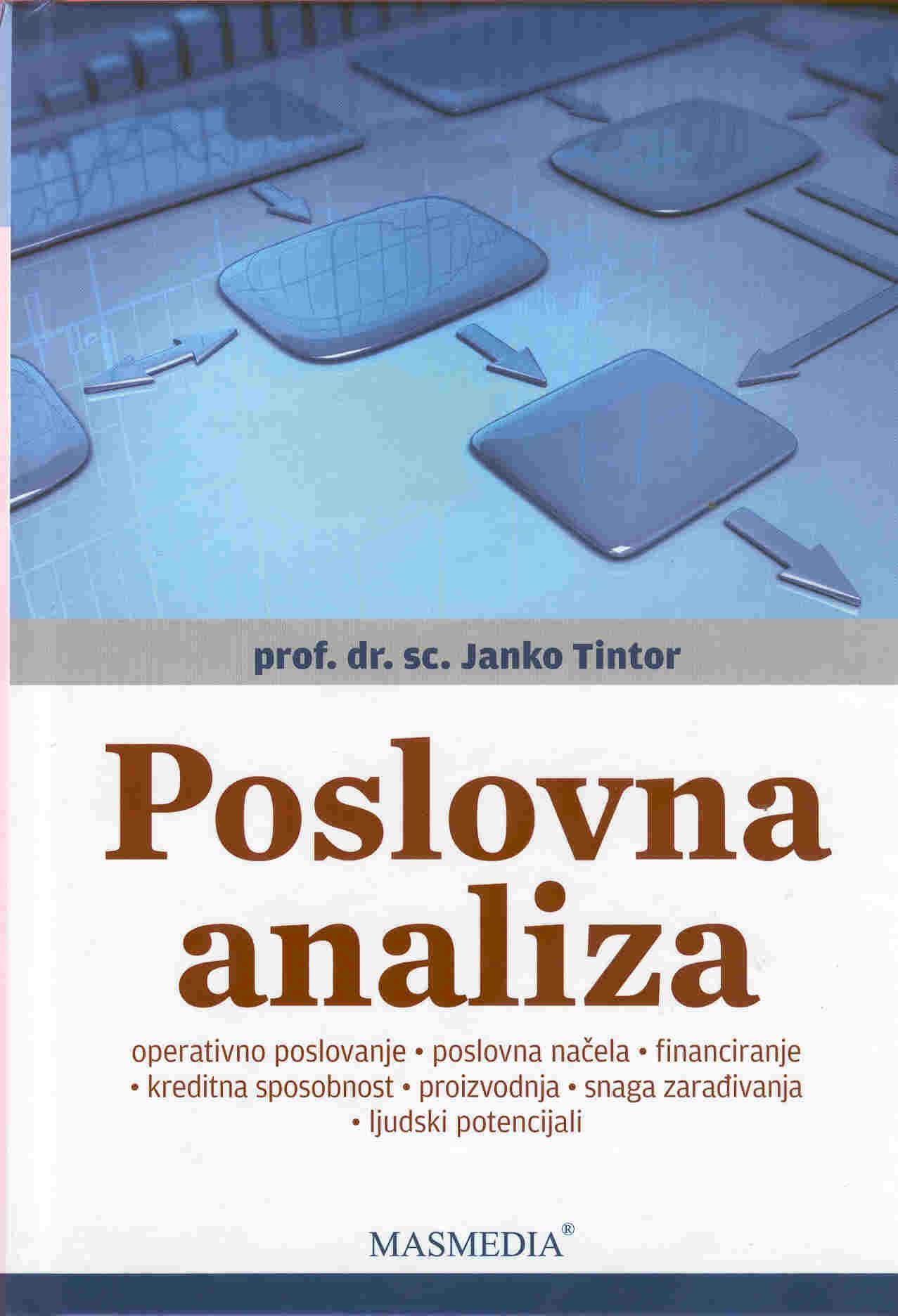 POSLOVNA ANALIZA - Naruči svoju knjigu