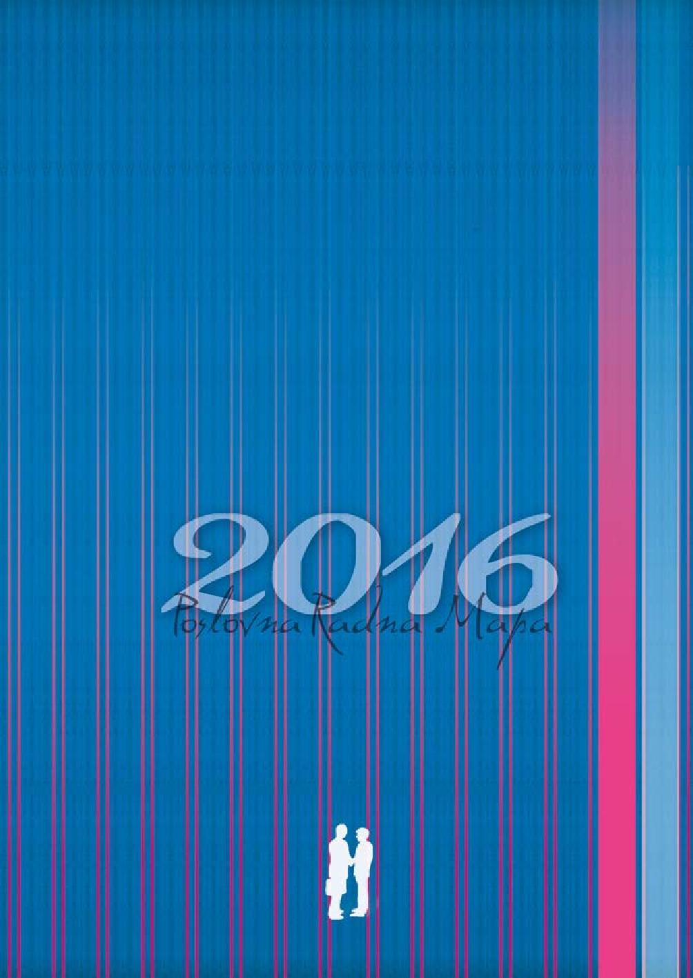 POSLOVNA RADNA MAPA 2016 - Naruči svoju knjigu