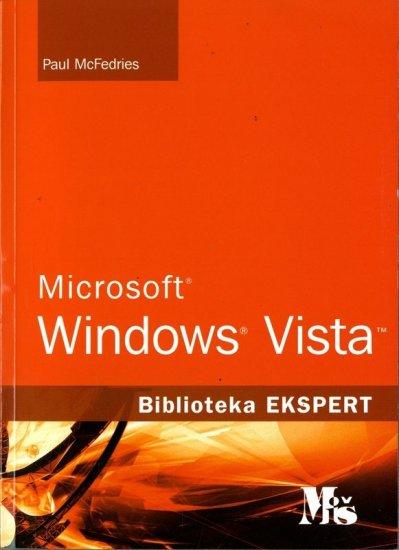 MICROSOFT WINDOWS VISTA - Naruči svoju knjigu