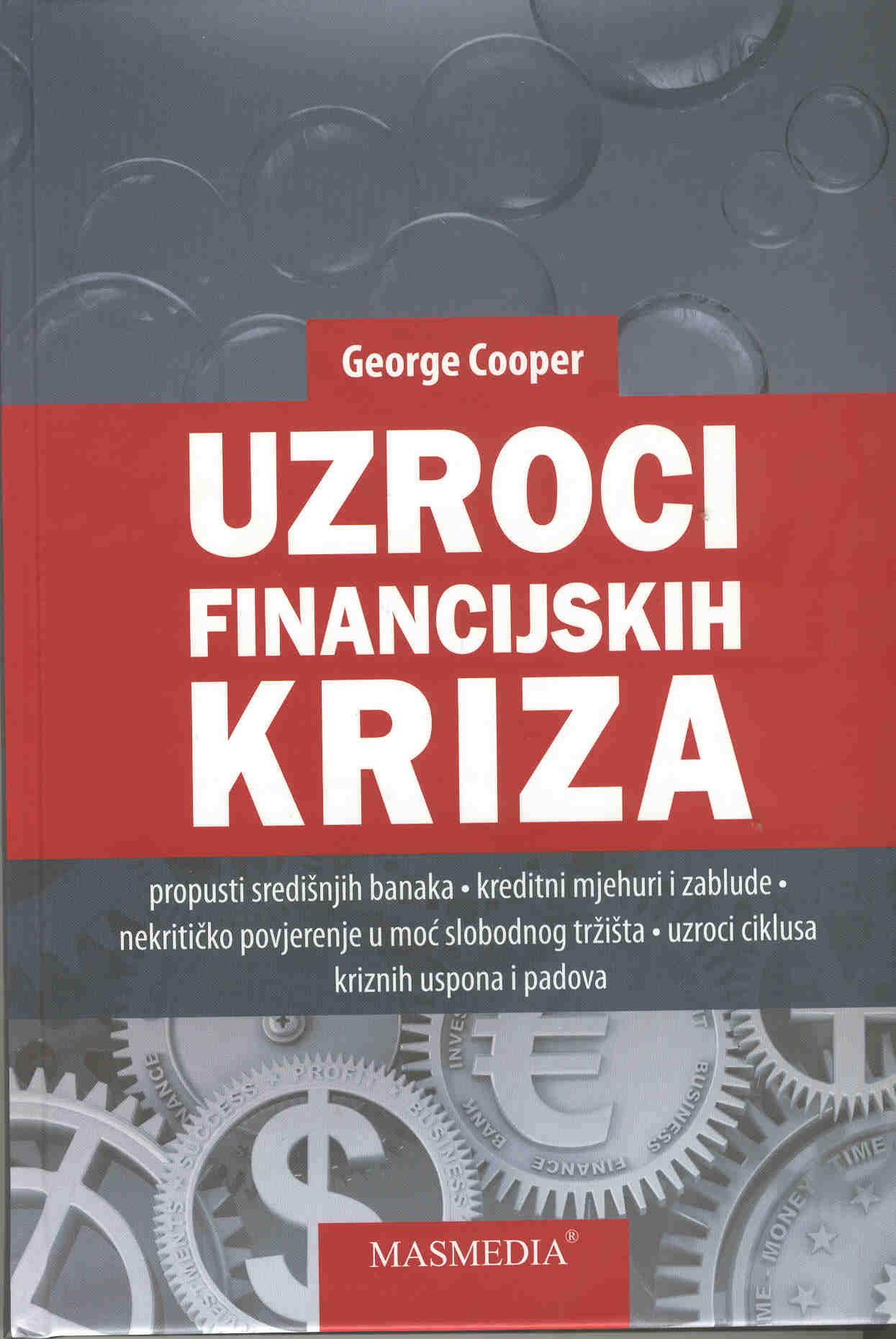 UZROCI FINANCIJSKIH KRIZA - Naruči svoju knjigu