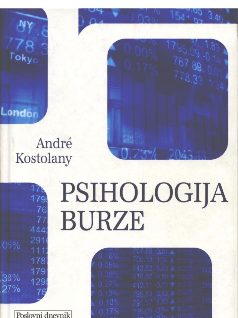 PSIHOLOGIJA BURZE - Naruči svoju knjigu
