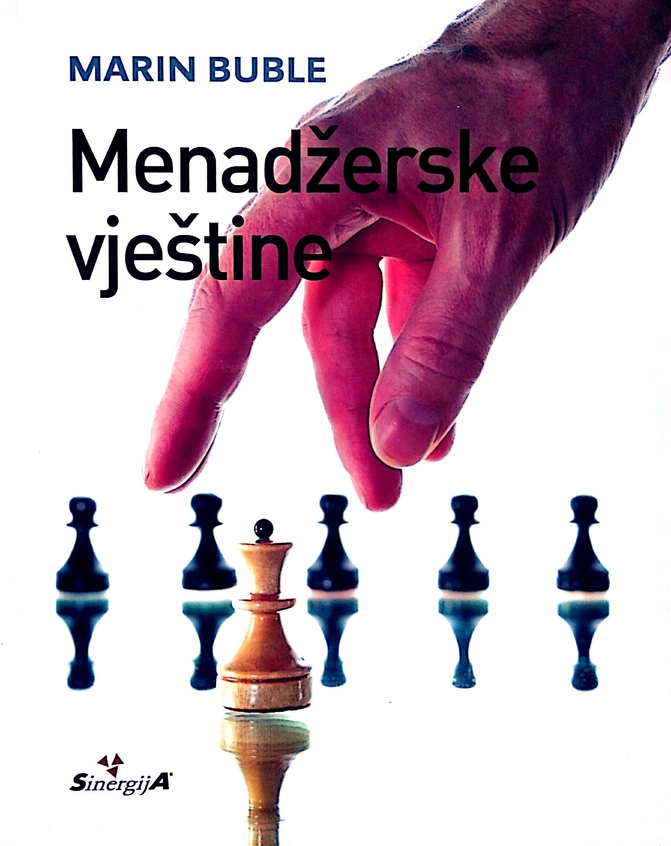 MENADŽERSKE VJEŠTINE - Naruči svoju knjigu