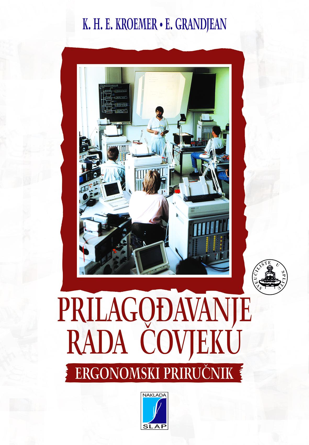 PRILAGOĐAVANJE RADA ČOVJEKU - Naruči svoju knjigu