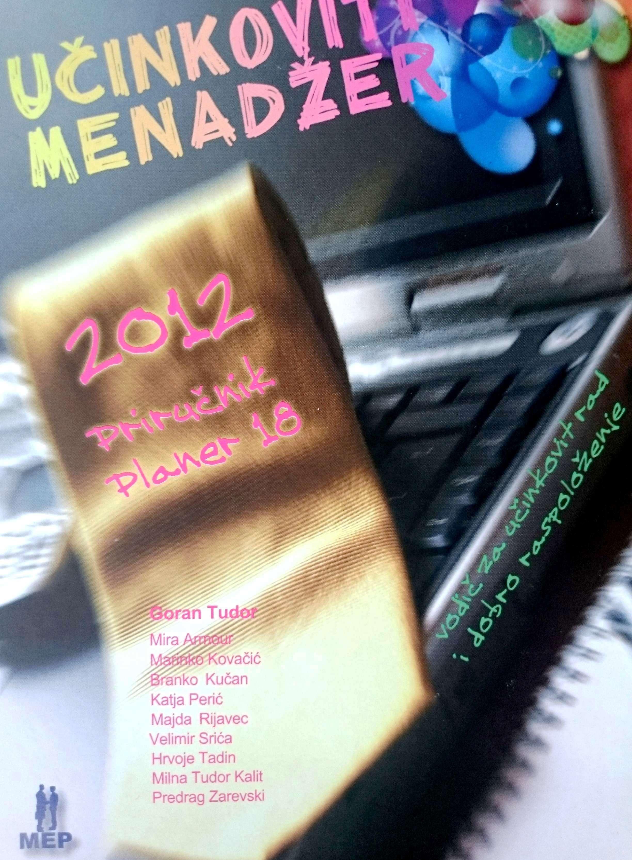 UČINKOVITI MENADŽER 2012 - Naruči svoju knjigu