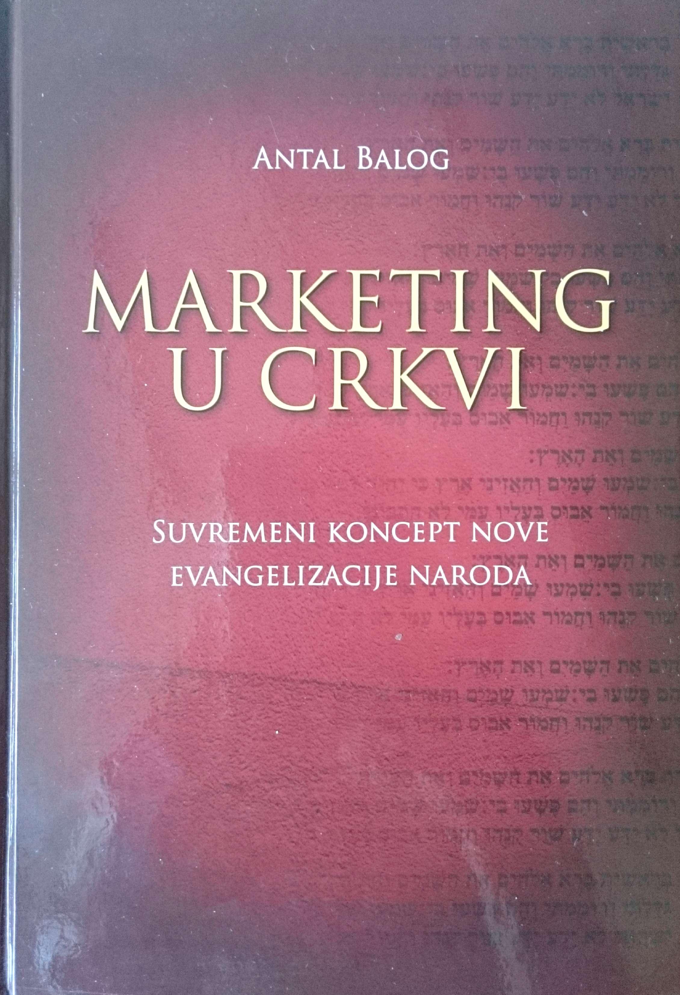 MARKETING U CRKVI - Naruči svoju knjigu