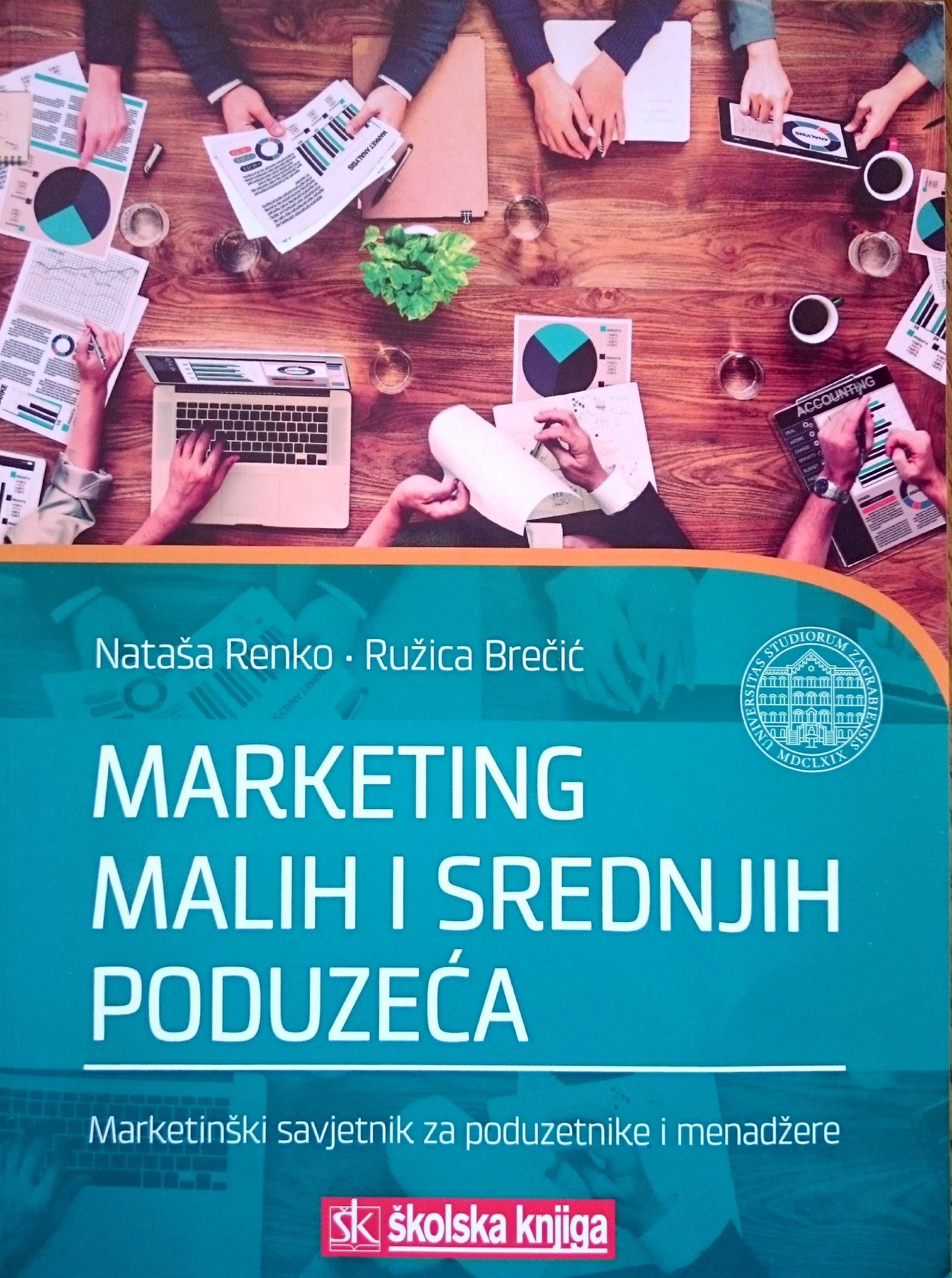 MARKETING MALIH I SREDNJIH PODUZEĆA, 2016 - Naruči svoju knjigu