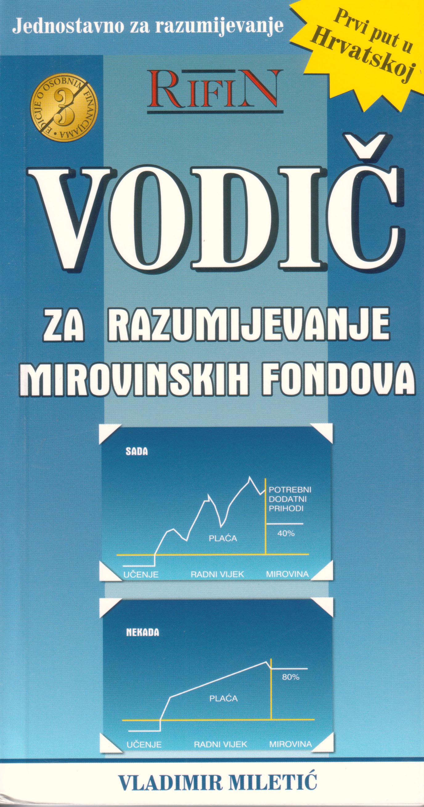 VODIČ ZA RAZUMIJEVANJE MIROVINSKIH FONDOVA - Naruči svoju knjigu