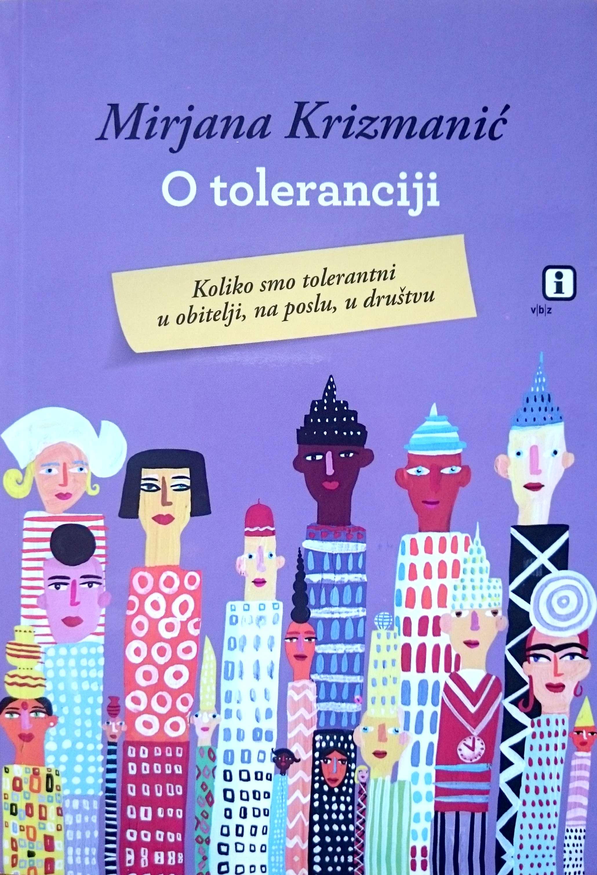 O TOLERANCIJI - Naruči svoju knjigu