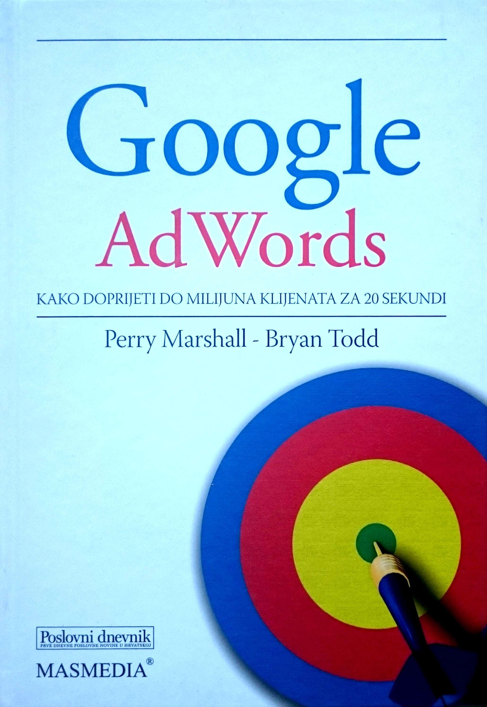 GOOGLE AdWords - Naruči svoju knjigu