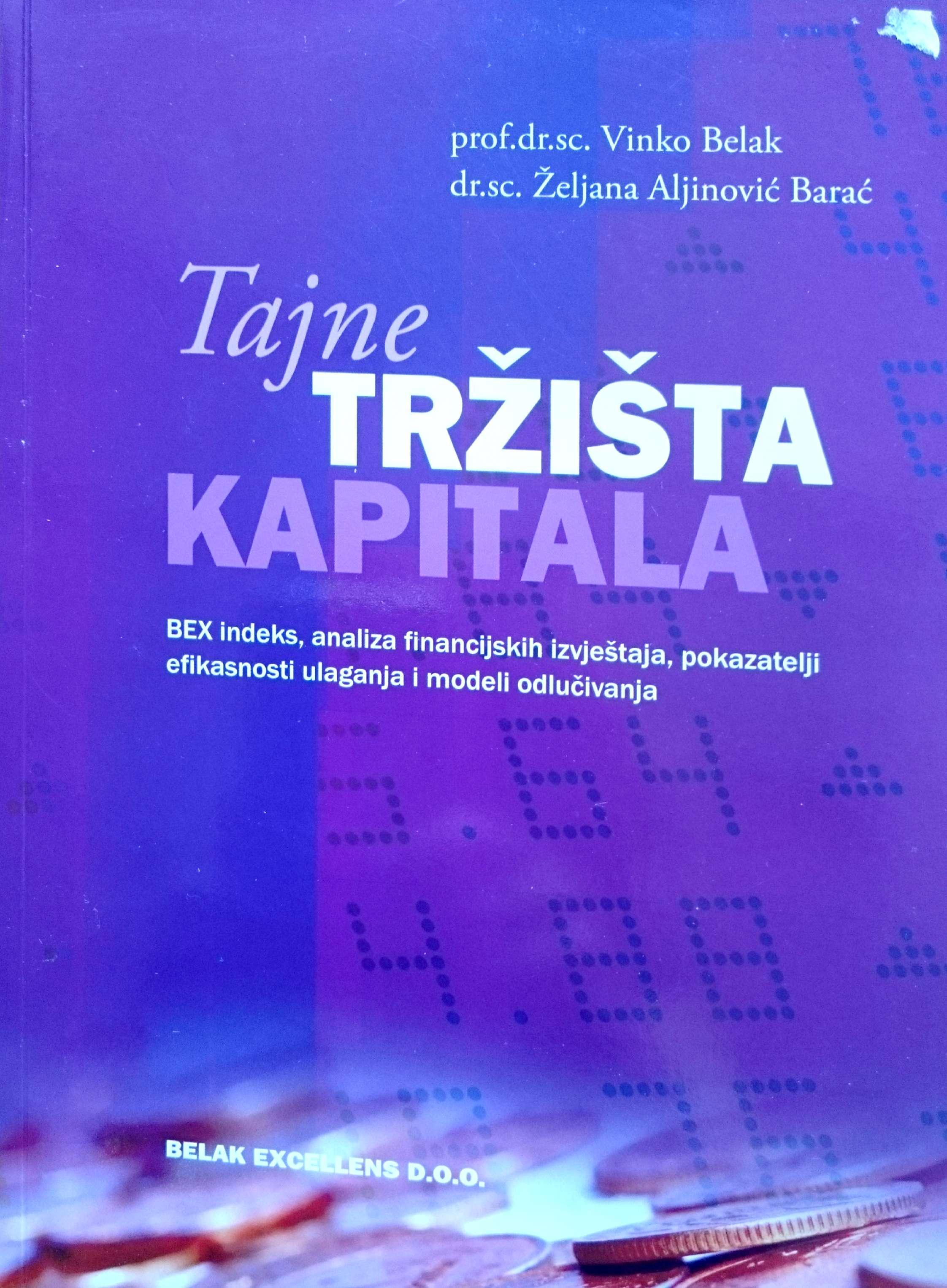 TAJNE TRŽIŠTA KAPITALA - Naruči svoju knjigu