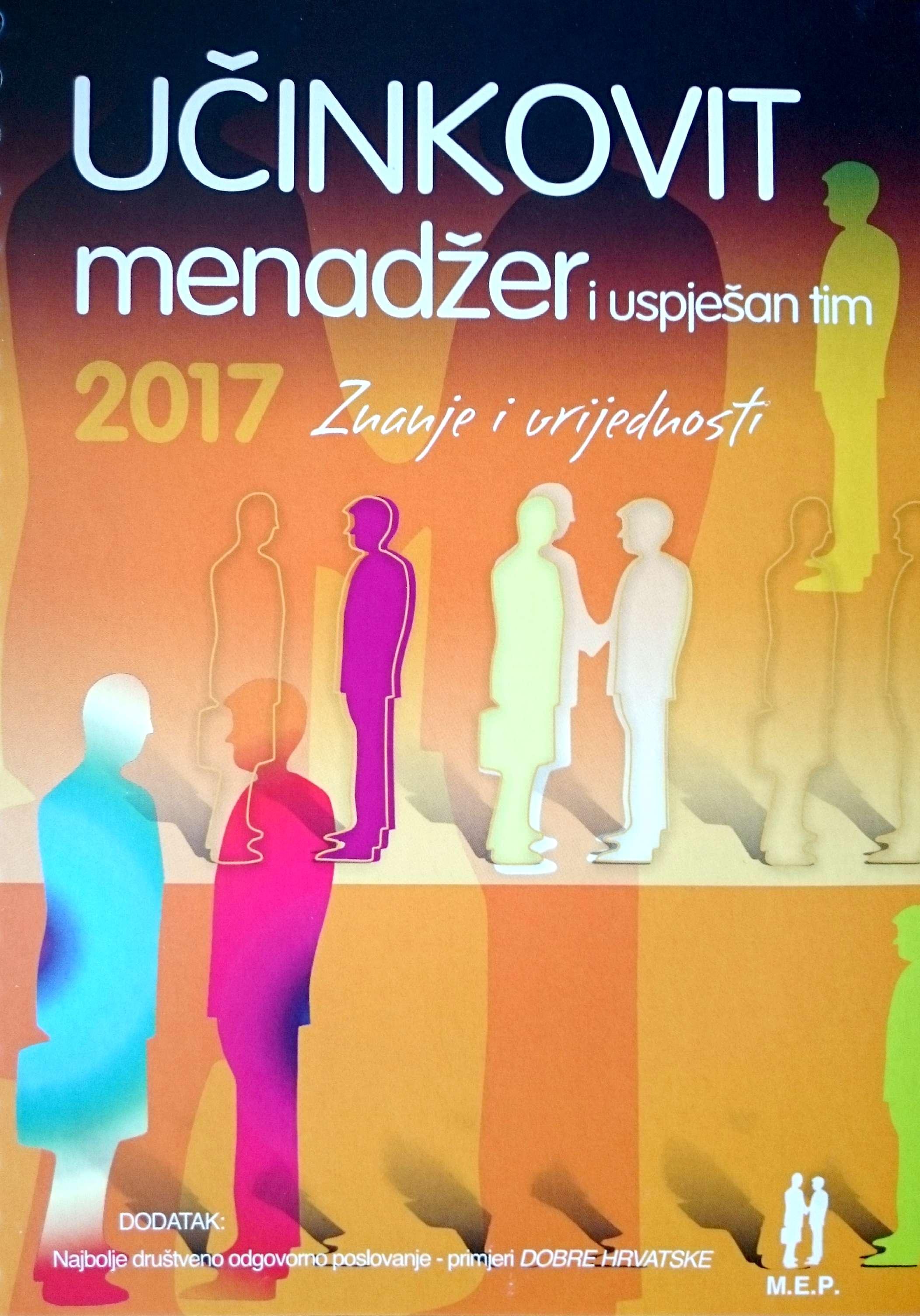 UČINKOVIT MENADŽER  I USPJEŠAN TIM 2017. - Naruči svoju knjigu