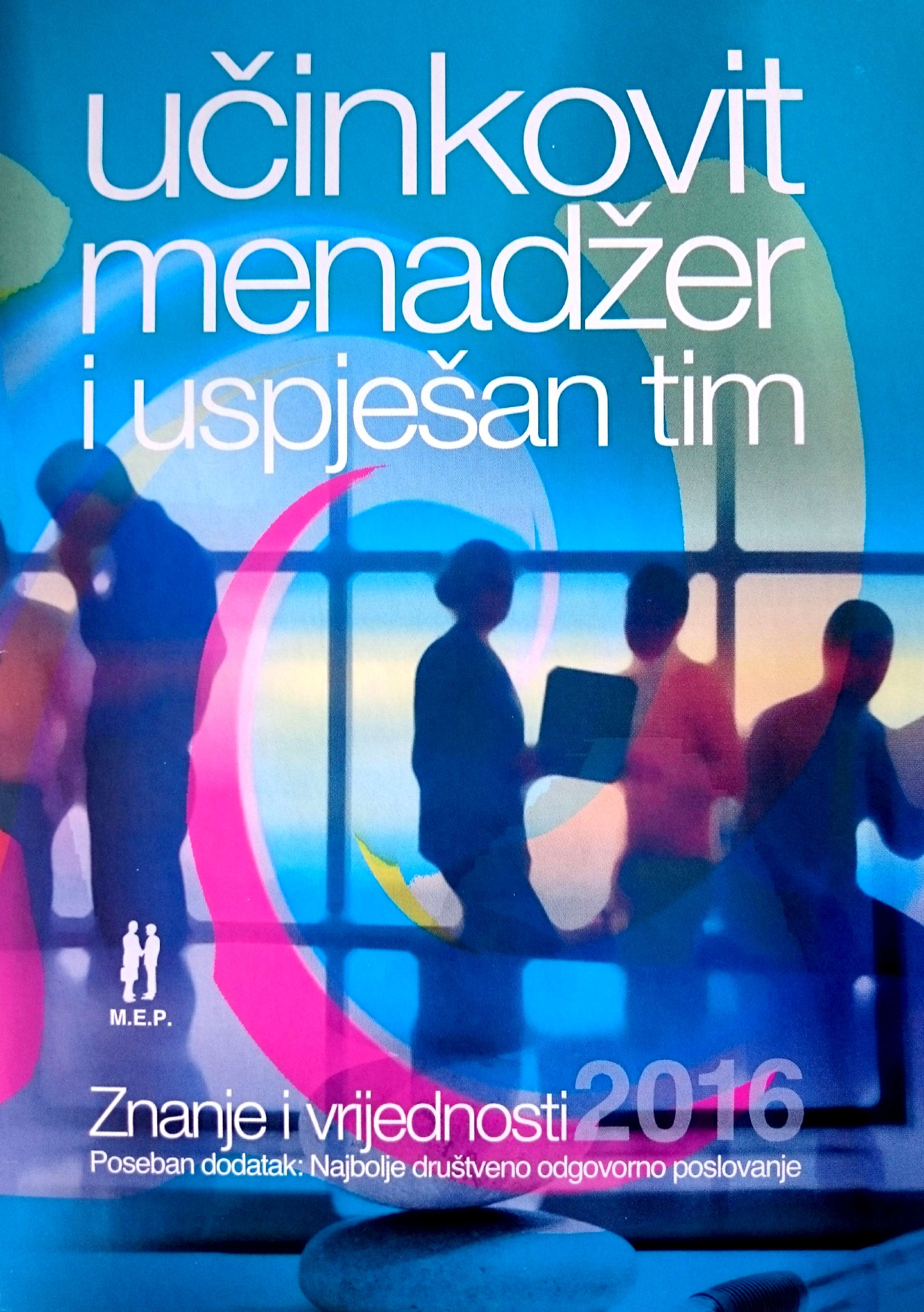UČINKOVIT MENADŽER I USPJEŠNI TIM 2016 - Naruči svoju knjigu