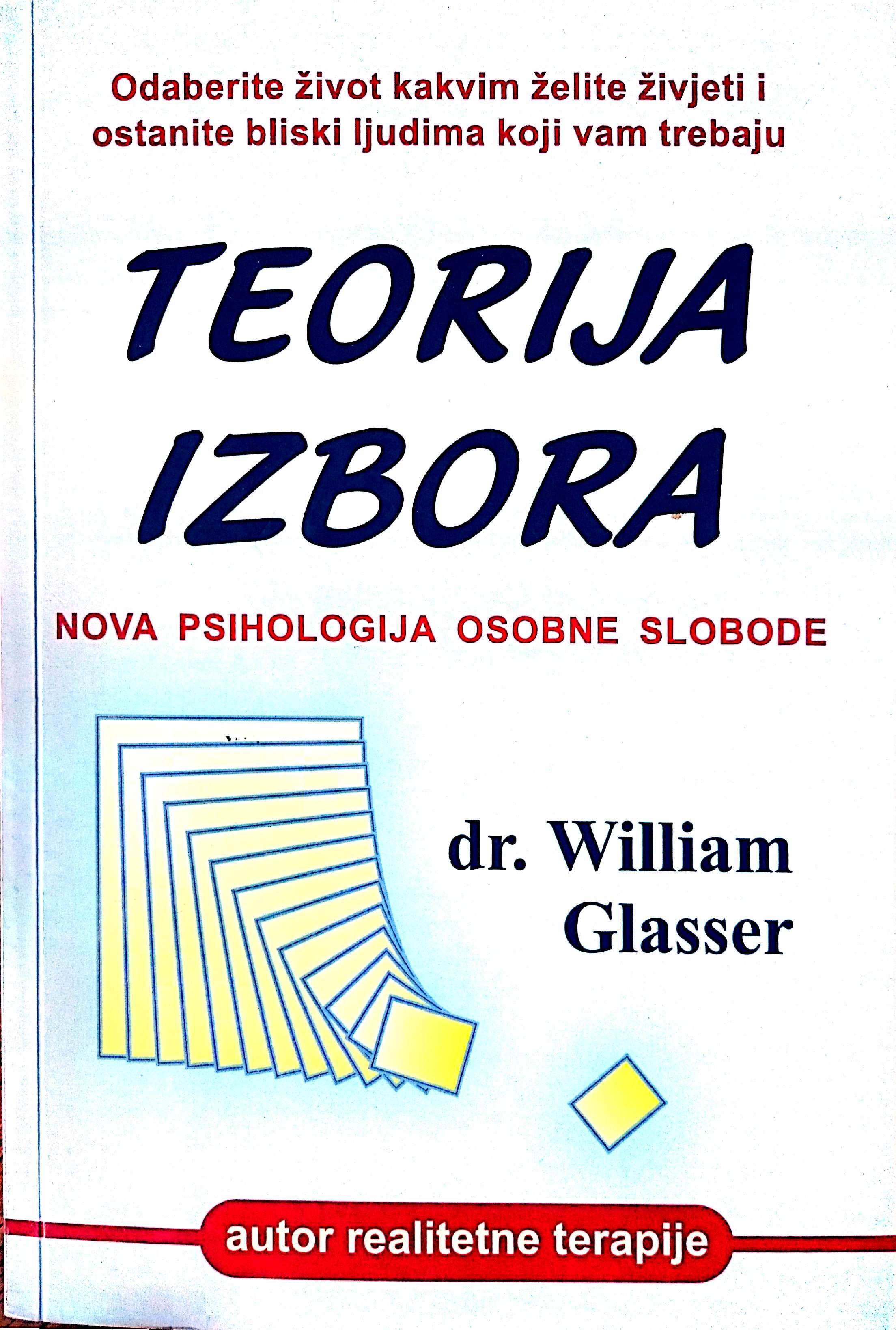 TEORIJA IZBORA - Naruči svoju knjigu