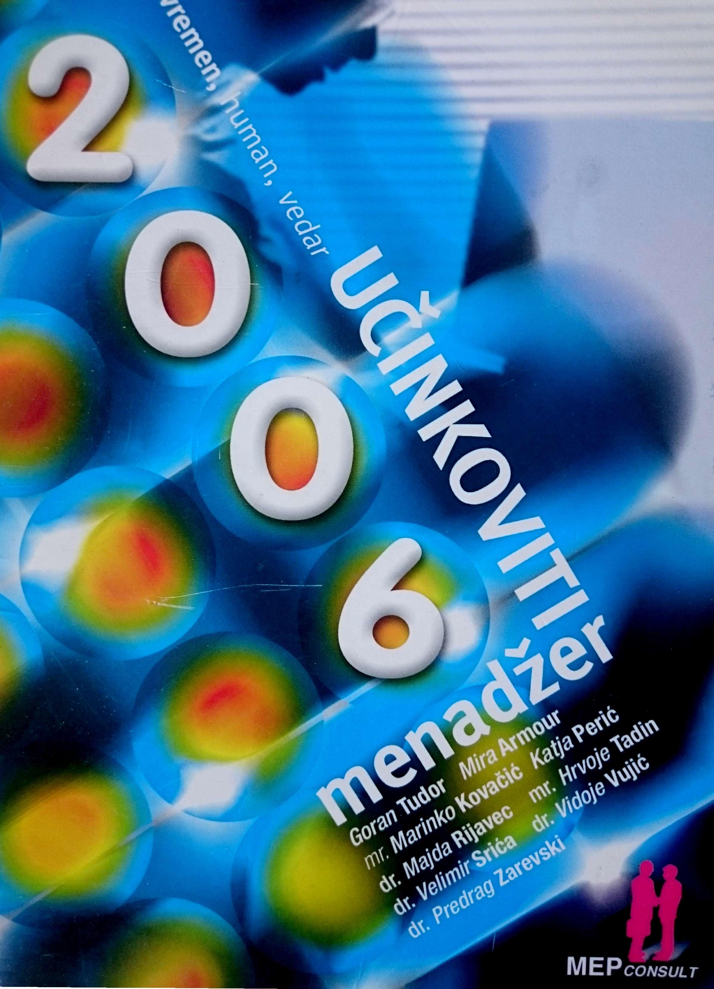 UČINKOVITI MENADŽER 2006 - Naruči svoju knjigu