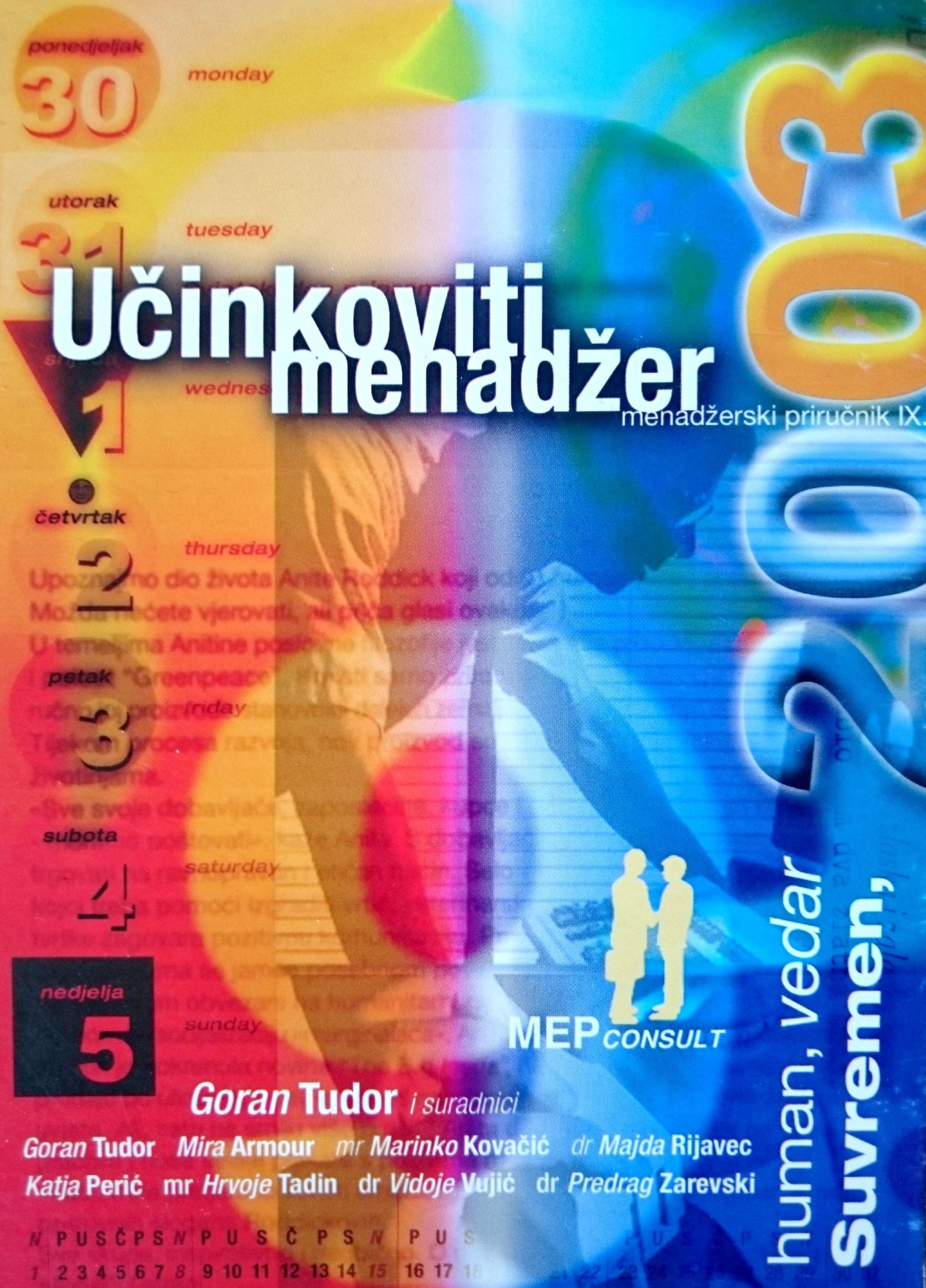UČINKOVITI MENADŽER 2003 - Naruči svoju knjigu