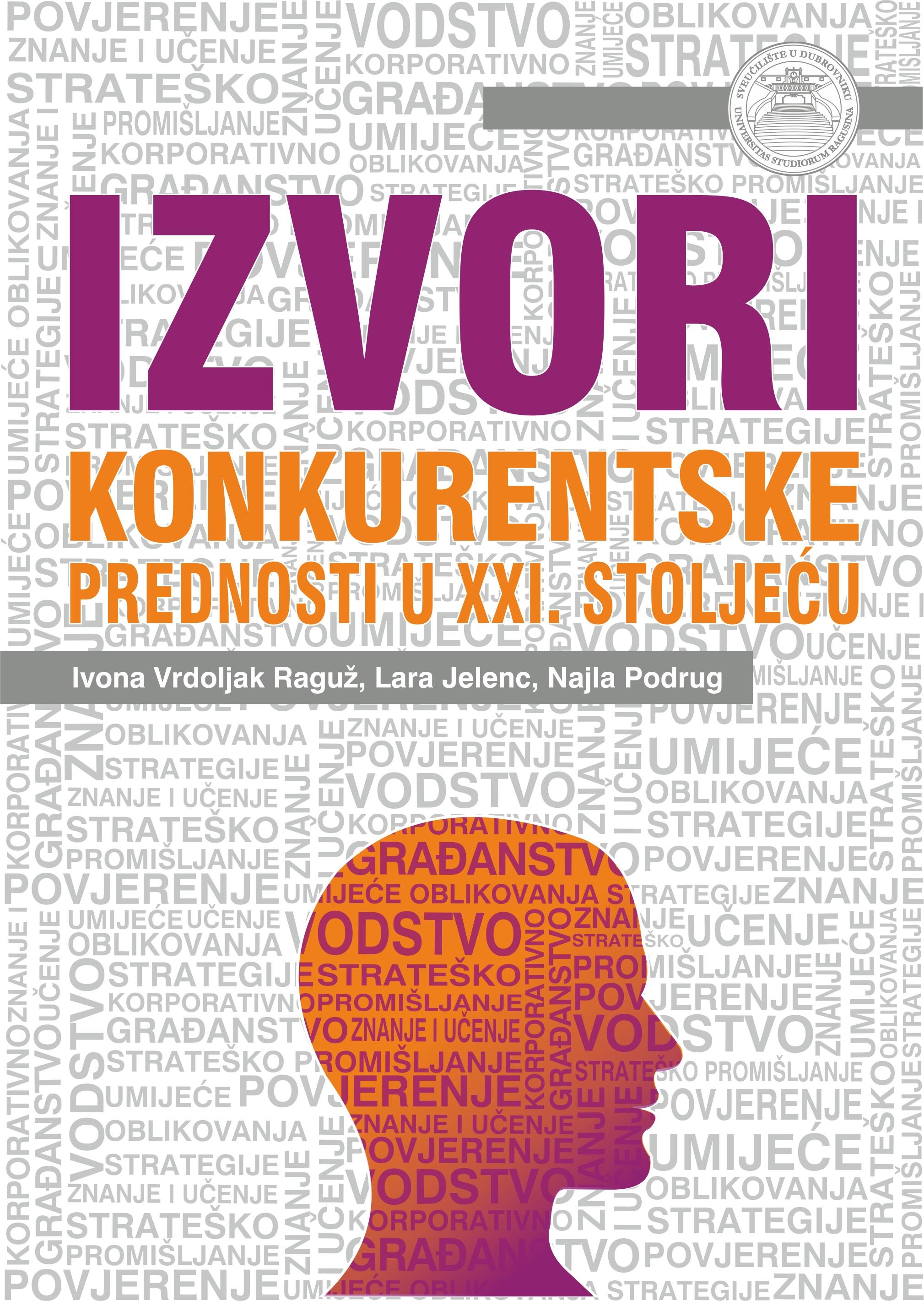 IZVORI KONKURENTSKE PREDNOSTI U XXI. STOLJEĆU - Naruči svoju knjigu