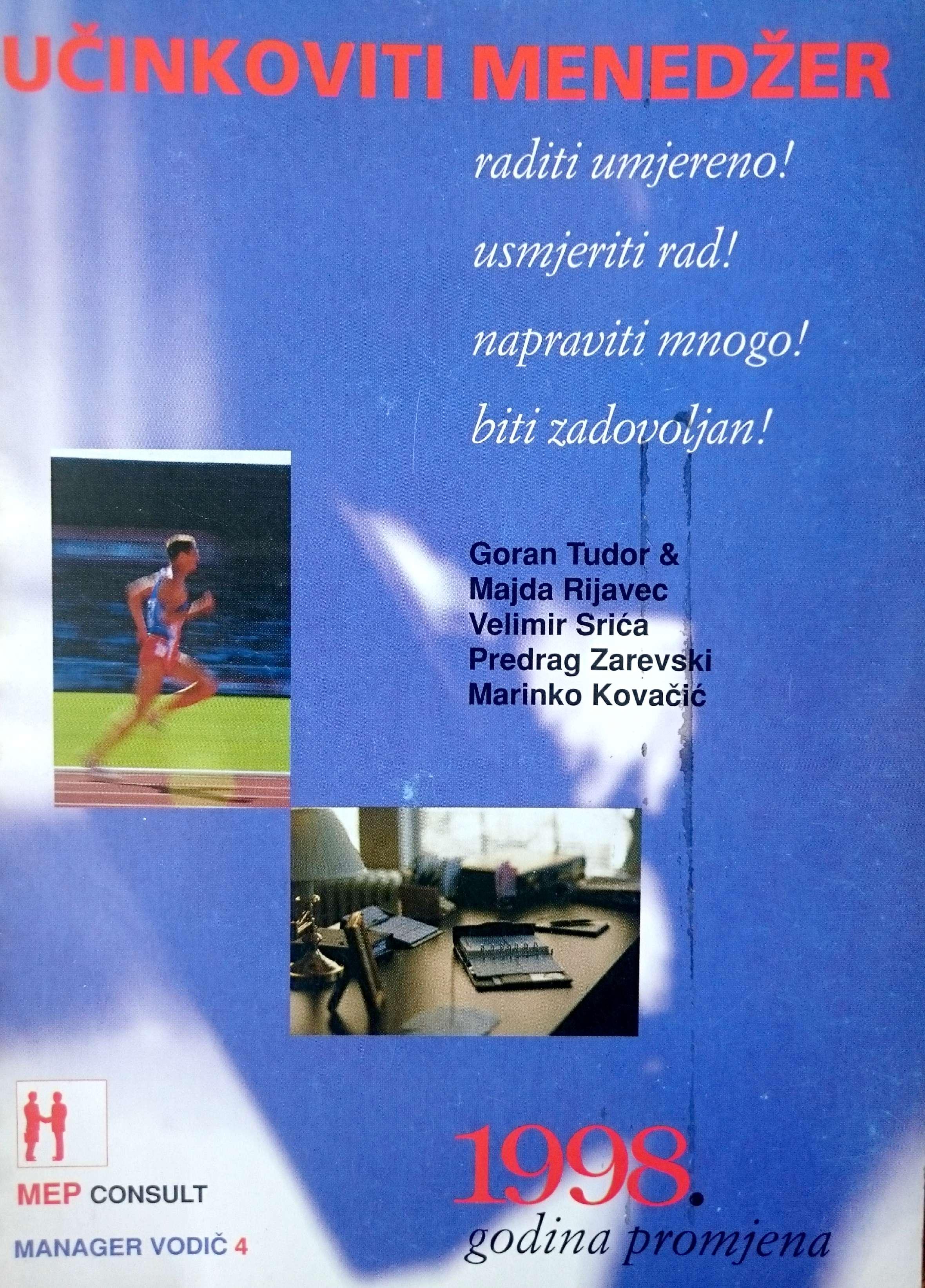 UČINKOVITI MENADŽER 1998 - Naruči svoju knjigu