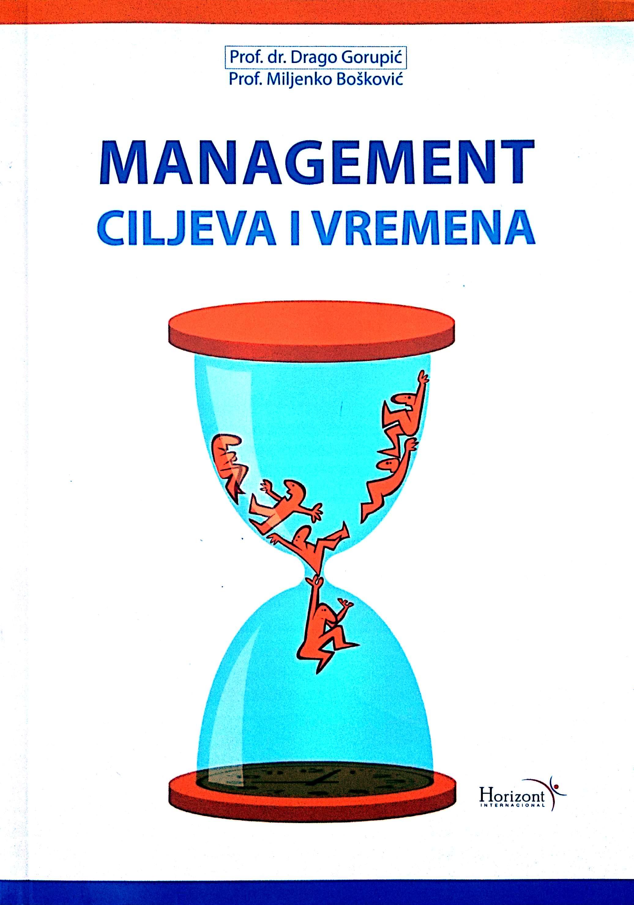 MANAGEMENT CILJEVA I VREMENA - Naruči svoju knjigu