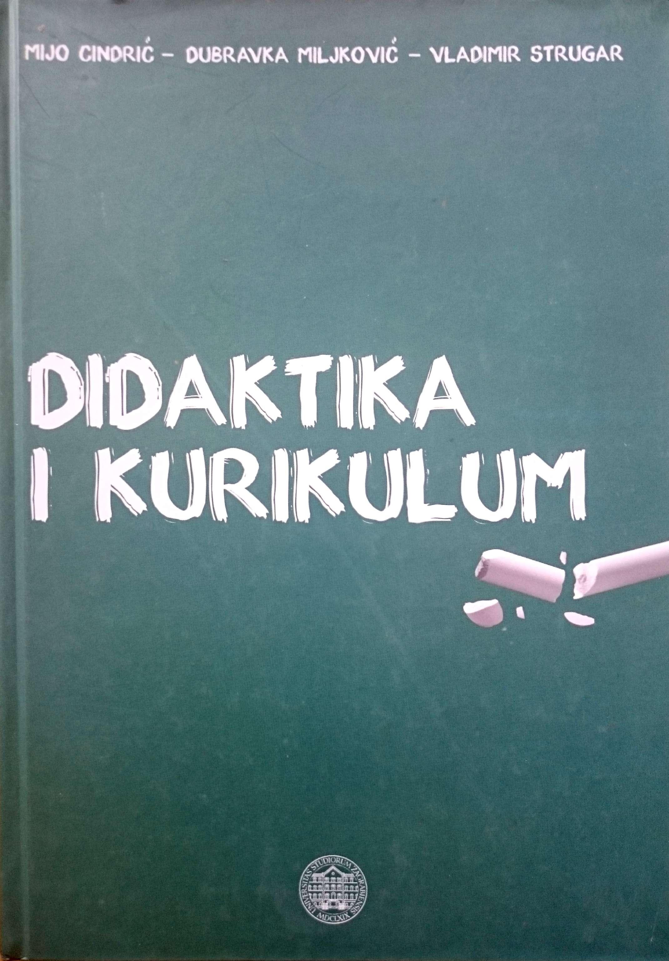 DIDAKTIKA I KURIKULUM, II. izdanje - Naruči svoju knjigu