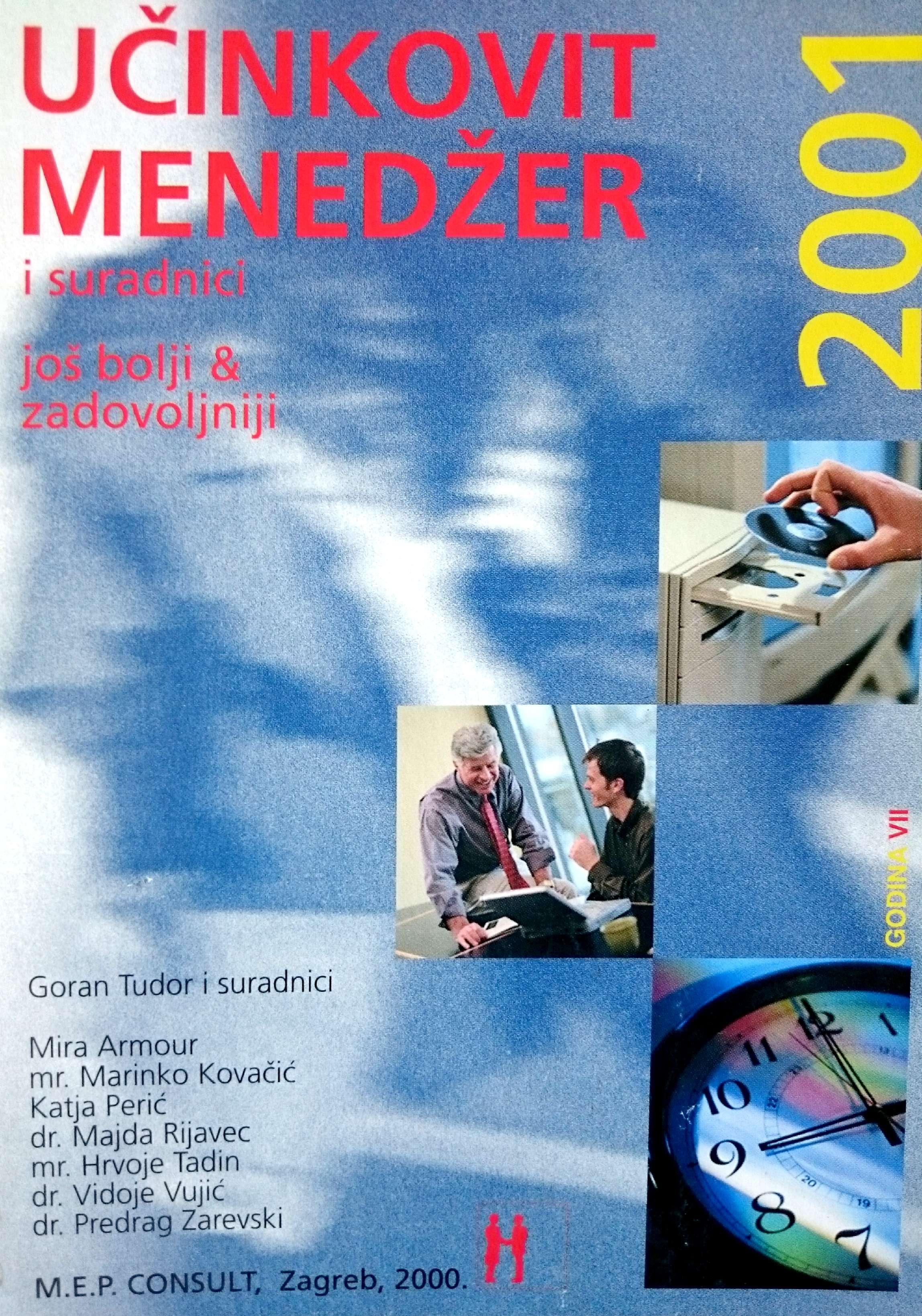 UČINKOVITI MENADŽER 2001 - Naruči svoju knjigu