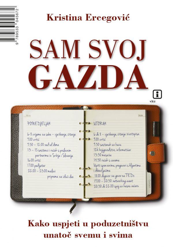 SAM SVOJ GAZDA - Naruči svoju knjigu