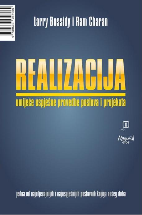 REALIZACIJA - Naruči svoju knjigu
