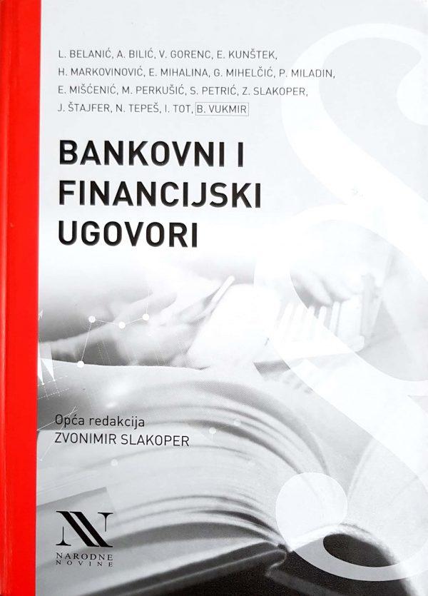 BANKOVNI I FINANCIJSKI UGOVORI - Naruči svoju knjigu