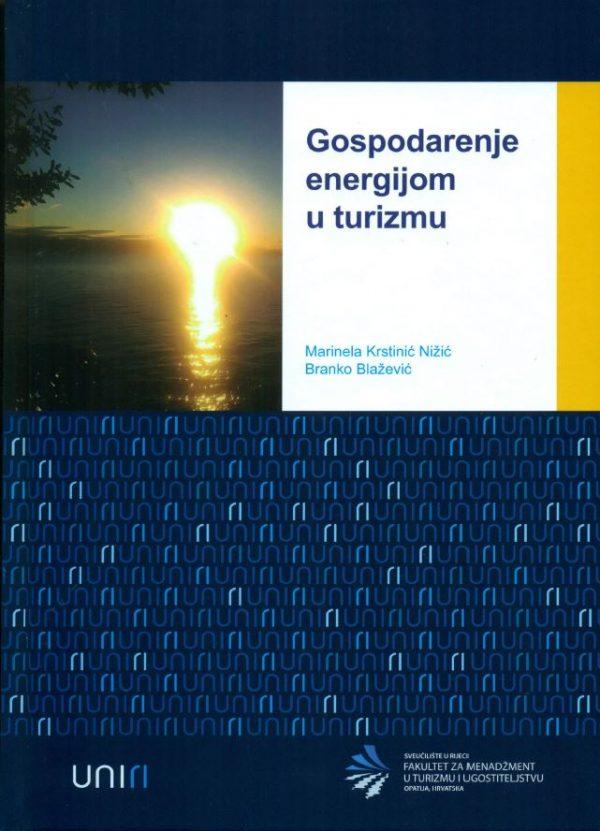 GOSPODARENJE ENERGIJOM U TURIZMU - Naruči svoju knjigu