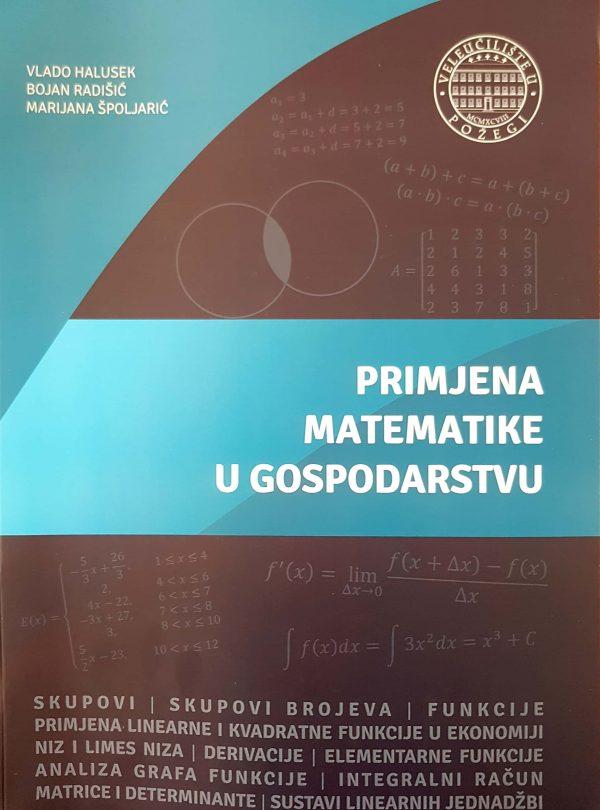 PRIMJENA MATEMATIKE U GOSPODARSTVU - Naruči svoju knjigu