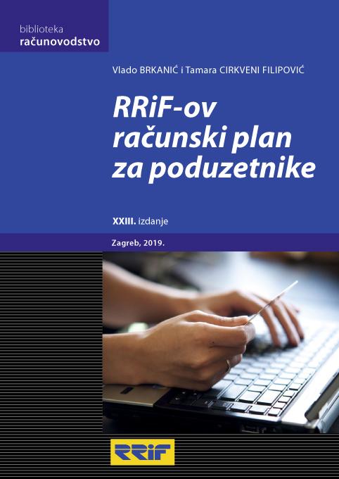 RRIF-ov RAČUNSKI PLAN ZA PODUZETNIKE (23. izd.) - Naruči svoju knjigu