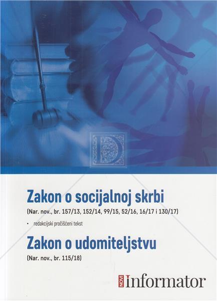 Zakon o socijalnoj skrbi, Zakon o udomiteljstvu - Naruči svoju knjigu