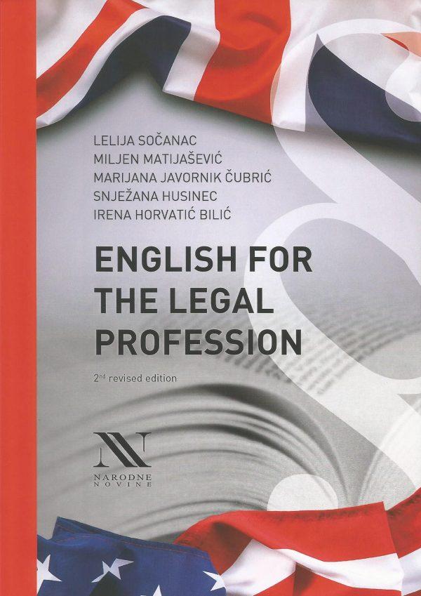 ENGLISH FOR THE LEGAL PROFESSION - Naruči svoju knjigu